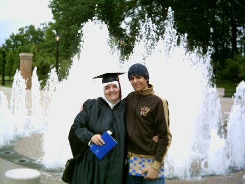 Lisa( College of Staten Island 2005 Commencement) and Ali (16 years old)